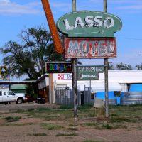 Lasso Motel on Route 66, Tucumcari, New Mexico, Тукумкари