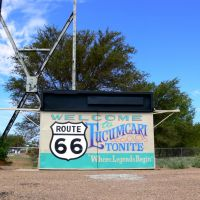 Welcome to Tucumcari Route 66, New Mexico, Тукумкари