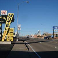 Route 66 W @ Americana Motel, Тукумкари