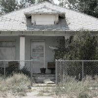 Derelict House, Tucumcari, NM, Тукумкари
