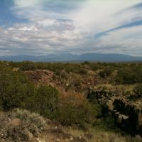View from White Rock Canyon Rim Trail, Уайт-Рок