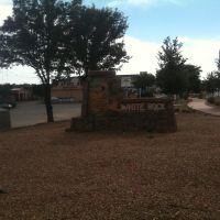 White Rock, New Mexico welcome sign, Уайт-Рок