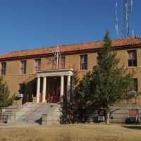 De Baca Co. Courthouse (1930) Fort Sumner NM 3-2014, Форт-Самнер