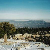 View over Sandias to High Plains, Хоббс