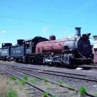 Cumbres and Toltec Scenic Railroad locomotives awaiting repair 3-5-2006, Чама