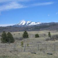 Snow covered peak, Chama, NM, Чама