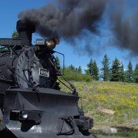 Cumbres & Toltec RR Steam Engine, Чама