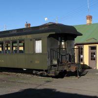 Chama Railroad Depot & Passenger Car, Chama, NM, USA, Чама