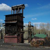 Chama, New Mexico - Cumbres and Toltec Railroad Yard - Coal Hopper, Чама