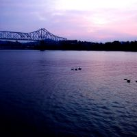 The Ohio River in the early morning, Айронтон