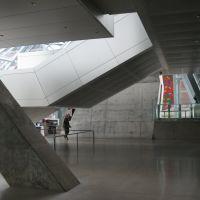 lobby, Akron Art Museum, Akron, Ohio, Акрон