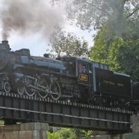 Central Ohio 1293 on Cuyahoga Valley Railroad, Akron, Ohio, September 15, 2012, Акрон