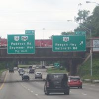 Exit 10 to OH-126 (Ronald Reagan Hwy) & Galbraith Rd on I-75 Southbound 08/14/2011, Арлингтон-Хейгтс