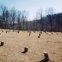 one of the old cemeteries at the old athens lunatic asylum, Атенс