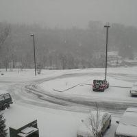 Snowy winter of 07, Атенс