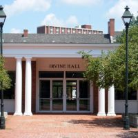 Irvine Hall, Атенс