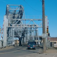 Ashtabula Lift Bridge street view in 2006, Аштабула