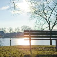 Late Winter Afternoon around Lake Anna Barberton, Ohio, Барбертон