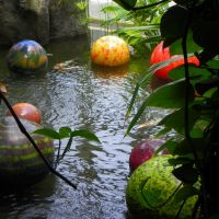 Chihuly glass floats - Franklin Conservatory, Бексли