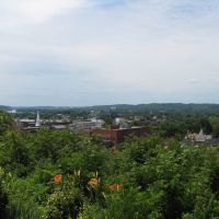 Parkersburg, WV, from Quincy Hill Park, Белпр