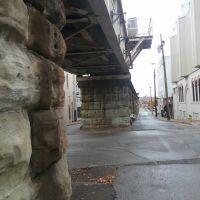Parkersburg rail bridge, Белпр