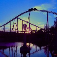 Riding into the Sunset ~ Cedar Point ~ Maverick, Браднер