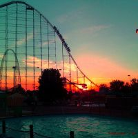Riding into the Sunset ~ Cedar Point ~ Magnum XL200, Браднер
