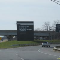 Cleveland Hopkins Intl Airport Entrance, Брук-Парк