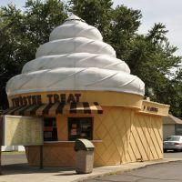 Twistee Treat Ice Cream Shop, Clyde, Ohio, September 6, 2013, Грин-Спрингс