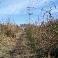 Trolley Car route, Williamstown, WV, Девола