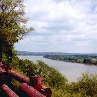 Ohio River , near Marietta, OH, Девола