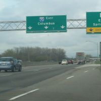 Exit 47 to OH-4 North on I-70 Eastbound 04/24/2011, Доннелсвилл