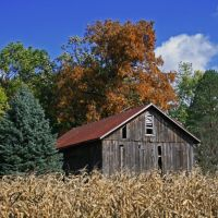 Barn near Medway, Ohio, Доннелсвилл