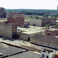 1987, View of Dayton from roof of Arcade Bldg -, Дэйтон