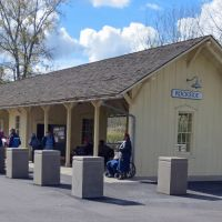 Cuyahoga Valley Railroad Station, Rockside, Ohio  October 2012, Индепенденс