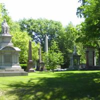 lakeview cemetery (cleveland) giant headstones, Ист-Кливленд