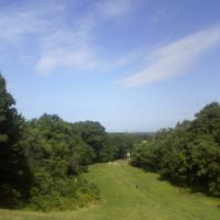 overlook of east cleveland in forest hills park, Ист-Кливленд