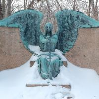 Haserot Angel at Lake View Cemetery, Ист-Кливленд