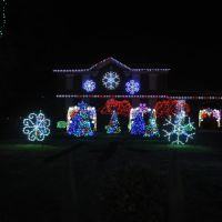 Nela Park Christmas Lights 2011 2, Ист-Кливленд