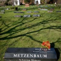Grave of Senator Howard Metzenbaum, Ист-Кливленд
