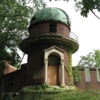 abandoned Warner & Swasey observatory, East Cleveland, Ohio, Ист-Кливленд