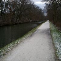 Towpath Trail and Canal, Канал-Фултон