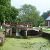 Lock 4 Park Canal Fulton Ohio, Канал-Фултон