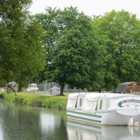 St. Helena III canal boat, Canal Fulton, Ohio, Канал-Фултон