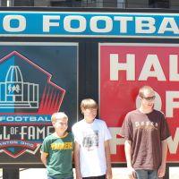 Pro Football Hall of Fame, Кантон