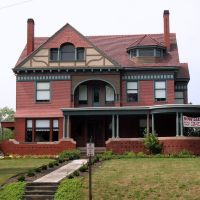 George E. Cook House, 1435 Market Ave. N., Canton, OH, Кантон