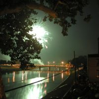2009 Fireworks_GreatMiamiRiver, Касстаун