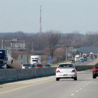2011, Monroe, OH, USA - I-75 north bound, Касстаун