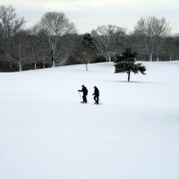 Snow Shoeing at the Dayton Community Golf Course, Кеттеринг