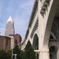 Key Tower and Detroit Superior Bridge, Кливленд
